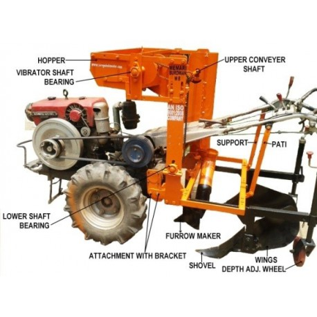 Potato Planter (Power trailer Driven)